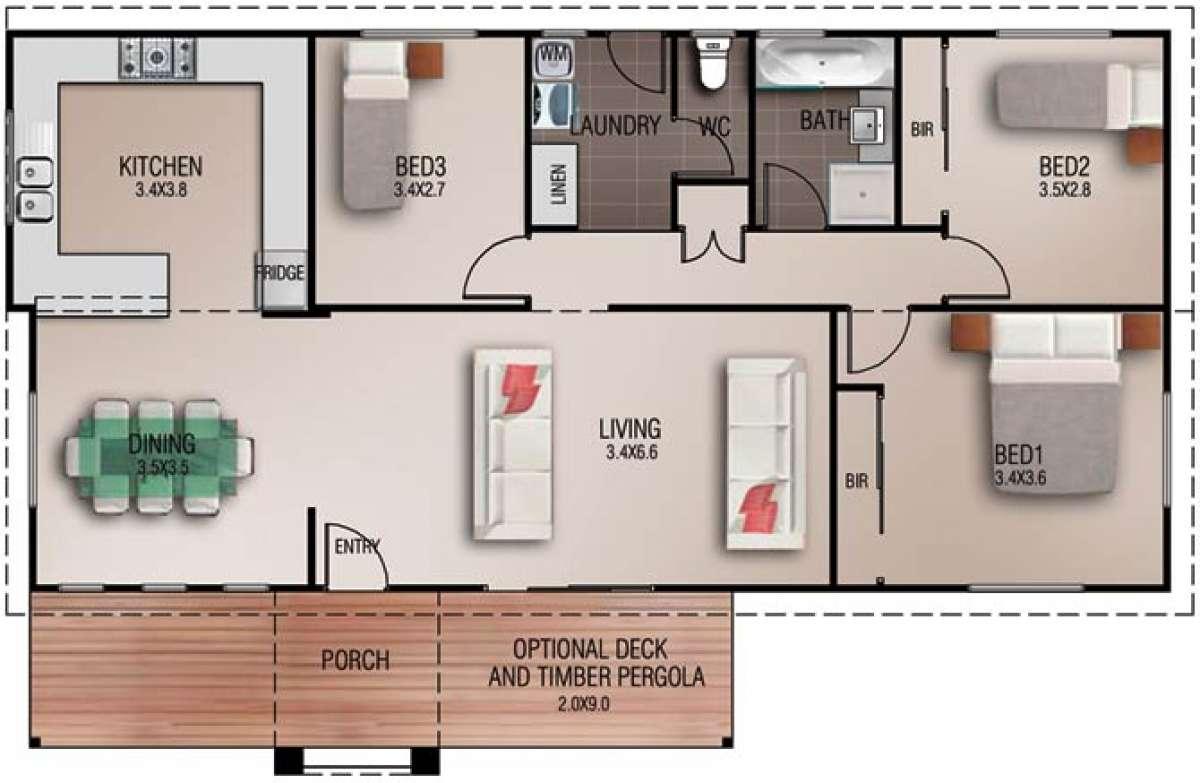 Mawson Floorplan