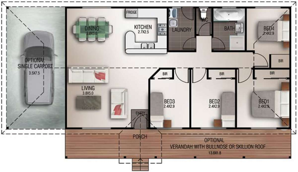 Mayfield Floorplan