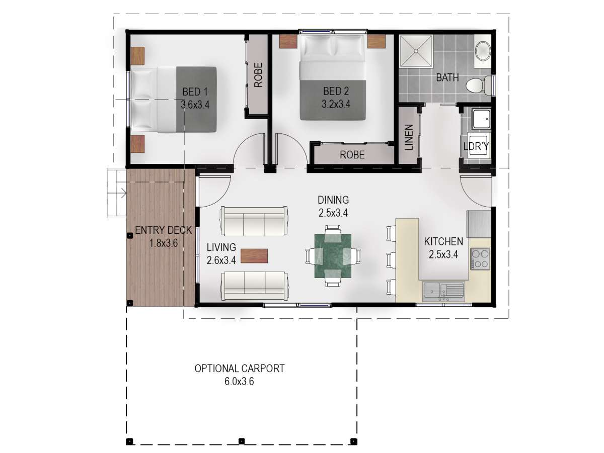 Musselroe Floor Plan 2018
