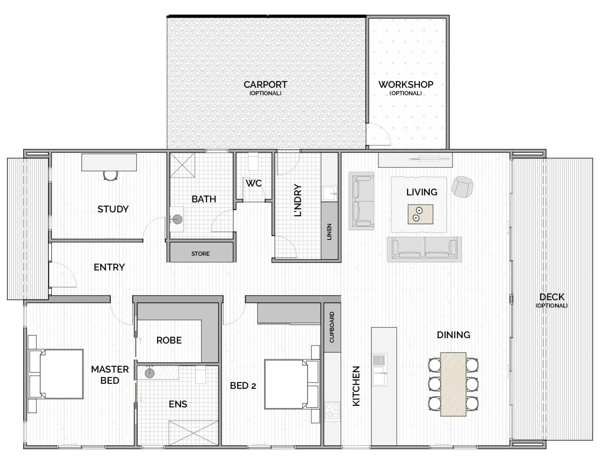 Neos floorplan
