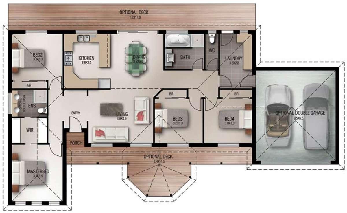 Prosser Floorplan