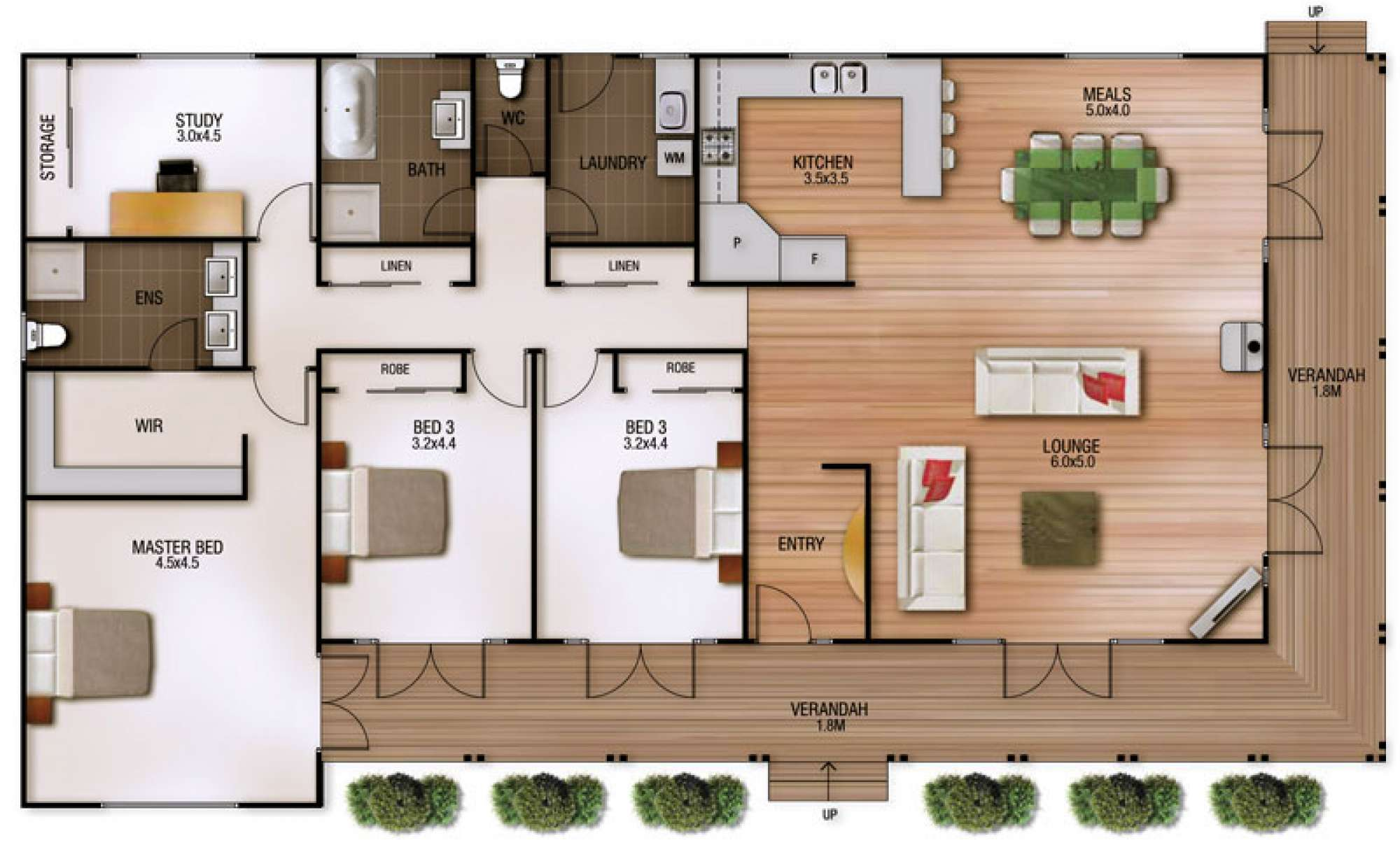 Sheridan Floor Plan